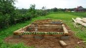 каркасная баня/поэтапное строительство